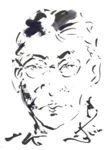 画家の師岡さんに描いて頂きました。 ありがとうございます。